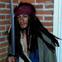 Captain Jakie Spare-row - Johnny Depp Impersonator in Clementon, New Jersey
