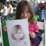 Little Girl Caricature