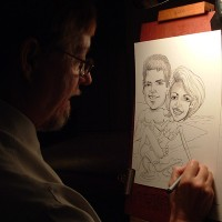 Caricatures Orlando Florida - Caricaturist in Winter Park, Florida