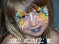 Caritas Face Art - Temporary Tattoo Artist in Huntington Beach, California