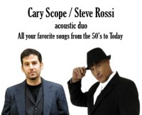 Cary Scope Steve Rossi Duo - Acoustic Band in Fort Lauderdale, Florida
