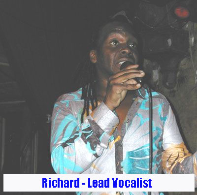 Richard Dixon - Lead Vocals