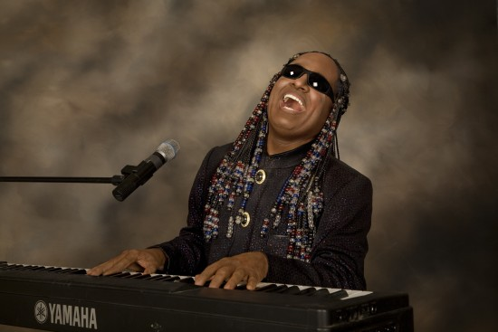 Anthony Edwards As Stevie Wonder
