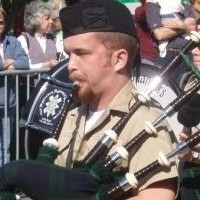 Chad Richards - Bagpiper in Napa, California