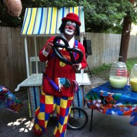 Character Central - Clown in Del Rio, Texas