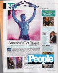 Only juggler ever in People Magazine