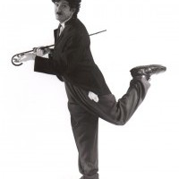 Charlie Chaplin Tribute - Stilt Walker in Orlando, Florida
