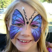 Cheek Thrills Face Painting - Costumed Character in Sacramento, California