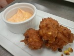 Fresh Corn Fritters & Chipotle Aioli