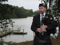 Chesapeake Pipes - Bagpiper in Hopewell, Virginia