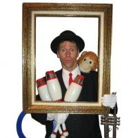 Chip Bryant - Mime in Huntington, West Virginia