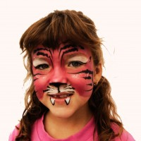 ChromaArt Face Painting - Pony Party in Fayetteville, Arkansas