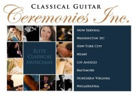 Classical Guitar Ceremonies Inc. - Classical Duo in Newark, New Jersey