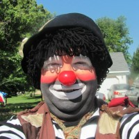 Clowning Around Town - Clown in Elk River, Minnesota