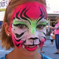 Color Me Happy - Face Painter in Knoxville, Tennessee