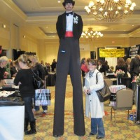 Colorado Circus - Stilt Walker in Aspen, Colorado