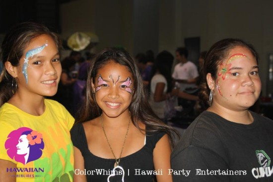 Hawaii Project Grad Body Art