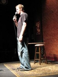Comedian Matt Bridges