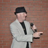 Comedian 'TJ' Reed - Auctioneer in ,