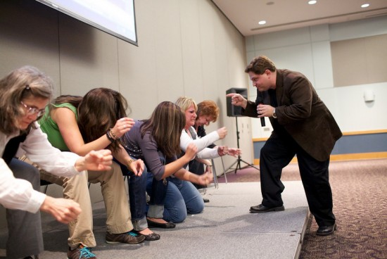 Corporate Motivational Hypnosis show