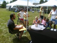 Commander Caricature - Tent Rental Company in Athens, Ohio