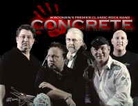 Concrete - Classic Rock Band in Madison, Wisconsin