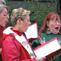 Contra Costa Chorale - Christmas Carolers in San Jose, California
