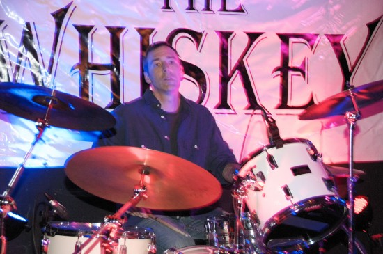 The Whiskey Brian Trevey on drums.