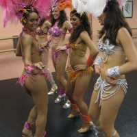 Copacabana Samba Show - Body Painter in Culver City, California