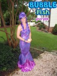 Bubble Mermaid Purple