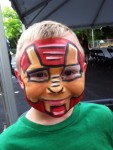 Superhero Full Face painting