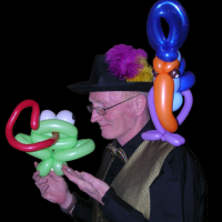 Crazy Chris - Balloon Artist Extraordinaire! - Party Favors Company in Courtenay, British Columbia