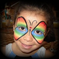 Create-A-Face Face & Body Painting - Super Hero Party in Chelsea, Massachusetts