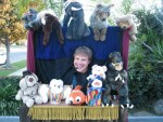 puppet show with theater
