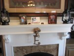 fireplace setting