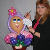 Creative Balloon Art &  Face Painting by Mirae - Princess Party in Highland Park, Illinois