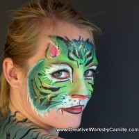Creative Works by Camille - Face Painter in Santa Barbara, California