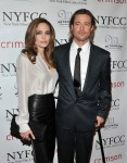 Brad & Angelina at 2011 NYFCC Awards @ Crimson