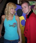 Curtis Lovell with Paris Hilton