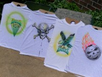 Custom Airbrushing - Temporary Tattoo Artist in Newark, Delaware