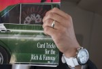 Card Tricks for the Rich and Famous