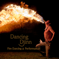Dancing Djinn - Fire Dancer in Manhattan, New York