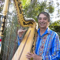 Daniel & His Paraguayan Harp - World Music in Signal Hill, California