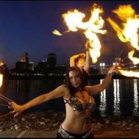 Dante's Gypsy Circus - Fire Performer in Xenia, Ohio