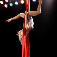 Daredevil Circus Company - Fire Dancer in Flint, Michigan