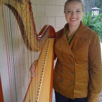 Daria Cortese, harpist - Celtic Music in Pike Creek, Delaware
