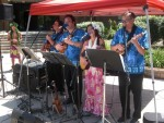 Makaha Group Tropical Sounds ukulele players