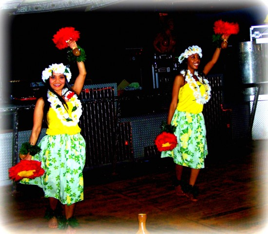 Beautiful Hula Dancers