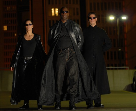 MATRIX'S Team - Trinity, Morpheus &amp;amp; Neo by Bruce C. Ruiz
