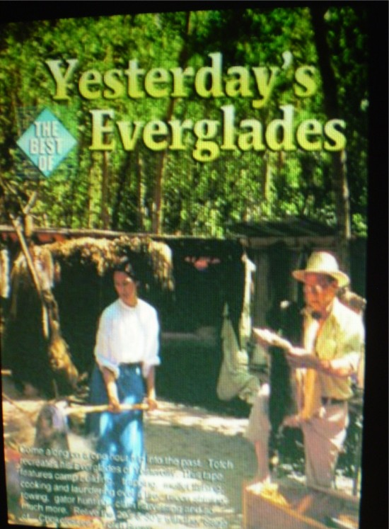 Ms Deborah, with Totch Brown, in Yesterday's Everglades (poster)